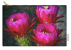 Carry-all Pouch featuring the photograph Hot Pink  by Saija Lehtonen