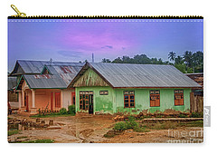 Carry-all Pouch featuring the photograph Houses by Charuhas Images