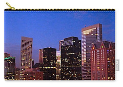 #houston #skyline At Dusk. #night Carry-all Pouch