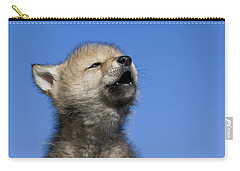 Howling Wolf Cub Carry-all Pouch