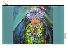Hula Maiden Carry-all Pouch