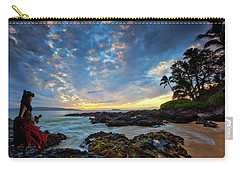 Hula Sunset Carry-all Pouch