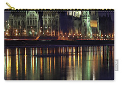 Hungarian Parliament By Night Carry-all Pouch