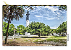 Hunting Island Lighthouse Carry-all Pouch by Scott Hansen