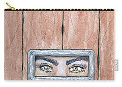I See You Carry-all Pouch by Edwin Alverio