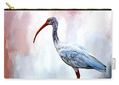 Ibis Carry-all Pouch by Cyndy Doty