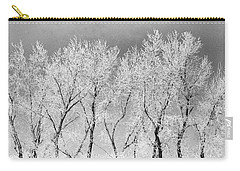 Ice Trees Carry-all Pouch