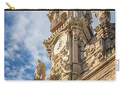Carry-all Pouch featuring the photograph Iglesia De Los Santos Juanes Valencia Spain by Joan Carroll