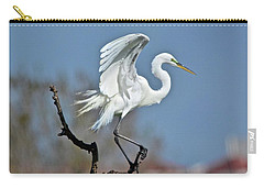 I'll Fly Away Carry-all Pouch by Carol Bradley
