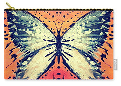 Carry-all Pouch featuring the painting In Flight by 'REA' Gallery