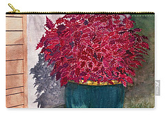 Carry-all Pouch featuring the painting In The Morning by Melly Terpening