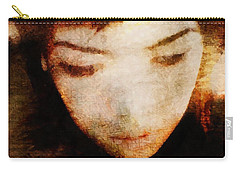 Carry-all Pouch featuring the digital art In Thoughts by Gun Legler