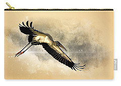 Incoming Carry-all Pouch by Cyndy Doty