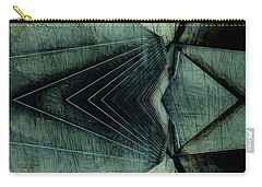 Industrial Bridge Grey Carry-all Pouch