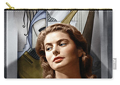 Carry-all Pouch featuring the photograph Ingrid Bergman by Granger