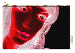 Inverted Realities - Red  Carry-all Pouch