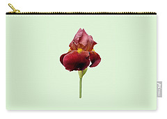 Iris Vitafire Green Background Carry-all Pouch