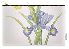 Iris Xiphium Carry-all Pouch by Pierre Joseph Redoute