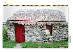 Irish Cottage Carry-all Pouch by Stephanie Moore