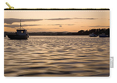 Carry-all Pouch featuring the photograph Irish Dusk by Ian Middleton