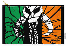 Irish Mandalorian Flag Carry-all Pouch
