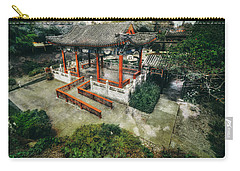 Carry-all Pouch featuring the photograph Jade Garden by Wayne Sherriff