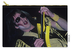 Jay Jay French Of Twisted Sister Carry-all Pouch