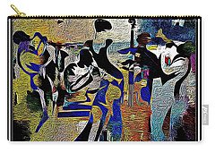 Jazzy Night  Carry-all Pouch by Lynda Payton
