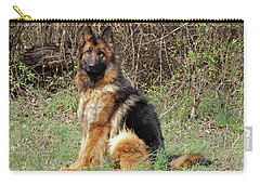 Carry-all Pouch featuring the photograph Jessy by Sandy Keeton