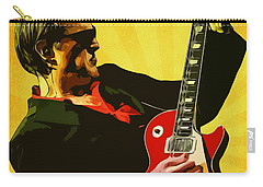 Joe Bonamassa Carry-all Pouch by Semih Yurdabak