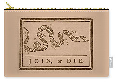 Join Or Die Carry-all Pouch by War Is Hell Store