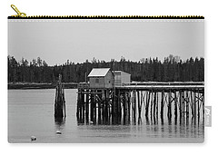 Carry-all Pouch featuring the photograph Jonesport, Maine by Trace Kittrell