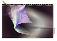 Carry-all Pouch featuring the digital art Joyful by Iris Gelbart