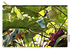 Carry-all Pouch featuring the photograph Jungle Jive by Mindy Newman