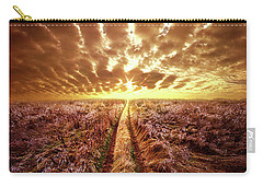 Carry-all Pouch featuring the photograph Just Over The Horizon by Phil Koch