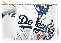 Justin Turner Los Angeles Dodgers Pixel Art Carry-all Pouch