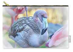 Juvenile Flamingo Carry-all Pouch