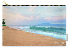 Carry-all Pouch featuring the photograph Ka'anapali Waves by Kelly Wade