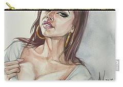Keisha Grey Carry-all Pouch