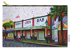 Key West Florida Sloppy Joes Bar Carry-all Pouch by Bill Cannon