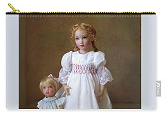 Carry-all Pouch featuring the photograph Kindhearted Kish Dolls by Nancy Lee Moran