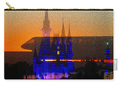 Carry-all Pouch featuring the digital art Kingdom by David Lee Thompson