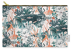 Kingfisher Carry-all Pouch by Jacqueline Colley