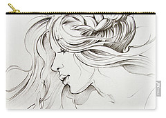 Kiss Of Wind Carry-all Pouch