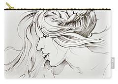 Kiss Of Wind Carry-all Pouch by Anna Ewa Miarczynska