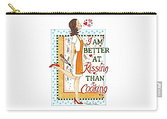 Kissing Cooking Carry-all Pouch