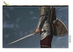 Knight Of The Storm Carry-all Pouch