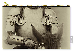 Carry-all Pouch featuring the photograph Knights Of Old 12 by Bob Christopher