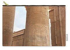 Carry-all Pouch featuring the photograph Kom Ombo Temple by Silvia Bruno