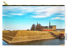 Carry-all Pouch featuring the photograph Kronborg Castle In Helsingor by Antony McAulay
